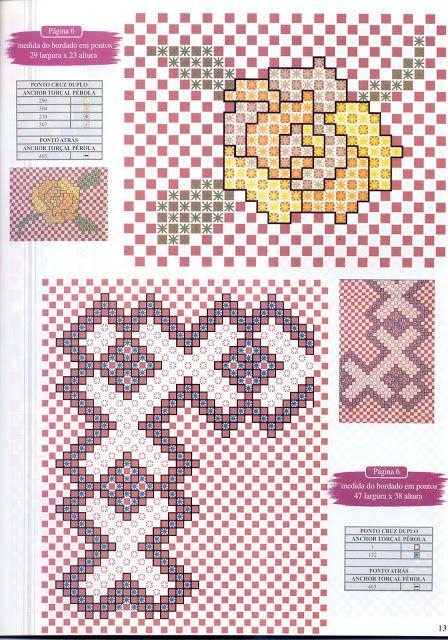 Revista Bordado xadrez n° 3 - margareth mi3 - Picasa Web Albums