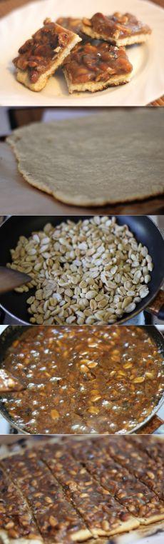 Как приготовить карамельное печенье с арахисом - рецепт, ингредиенты и фотографии