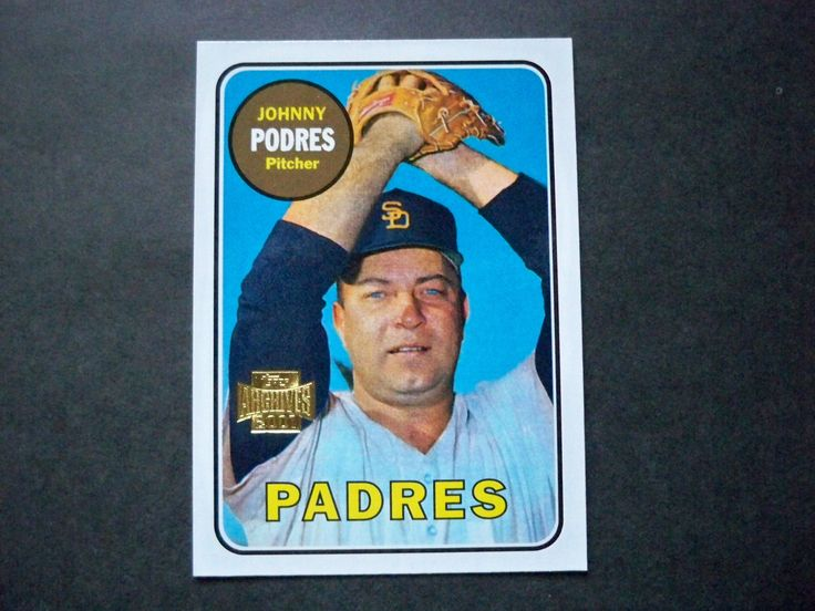 2001 Topps Archives #128 Johnny Podres Padres NM/MT