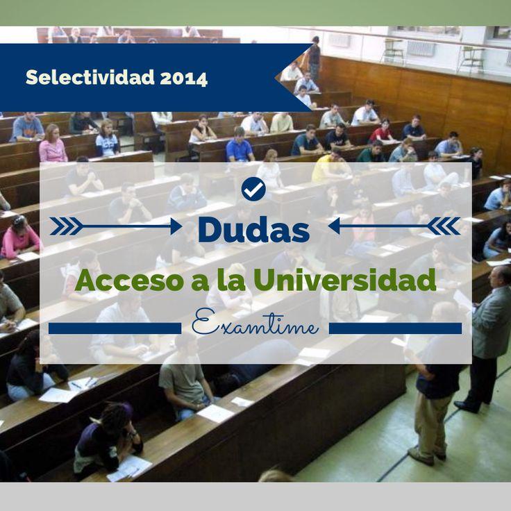 Gerardo Fernández responde a las dudas más frecuentes que los estudiantes le plantean en las semanas previas a la Prueba de Acceso a la Universidad.
