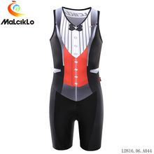 MALCIKLO Triathlon One-pieces Sleeveless Cycling Jersey Women Quick Dry Breathable Cycling Clothing Skinsuit Bicycle Bike Jersey(China (Mainland))