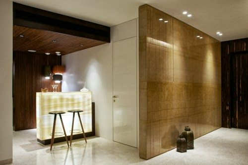 We have an apartment accentuated by an entrance foyer for Foyer designs india
