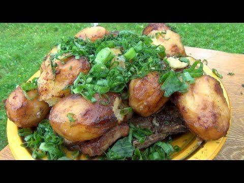 Картошка с мясом в казане. Link download: http://www.getlinkyoutube.com/watch?v=RnoLA15jVK8