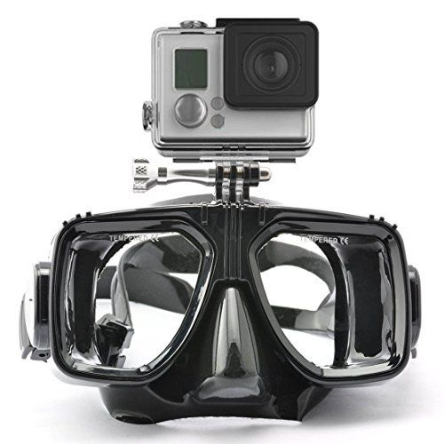 The Accessory Pro® Dive Mask for all GoPro® cameras - Scuba Mask + FREE WIFI WRIST STRAP | shopswell