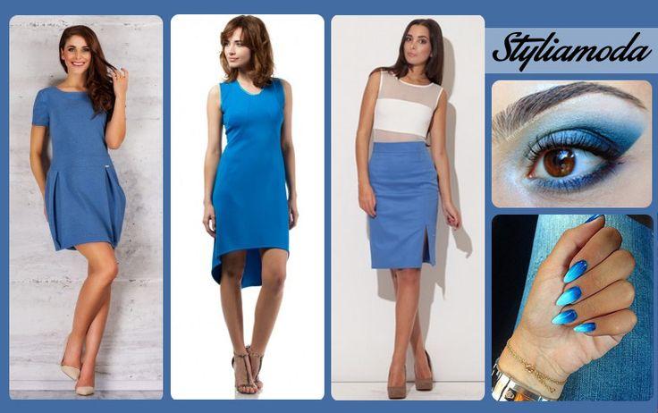 Inspiracja na dziś - niebieski! :) Wszystkie 3 stylizacje znajdziecie u nas :)  http://styliamoda.pl/15-nowosci#/