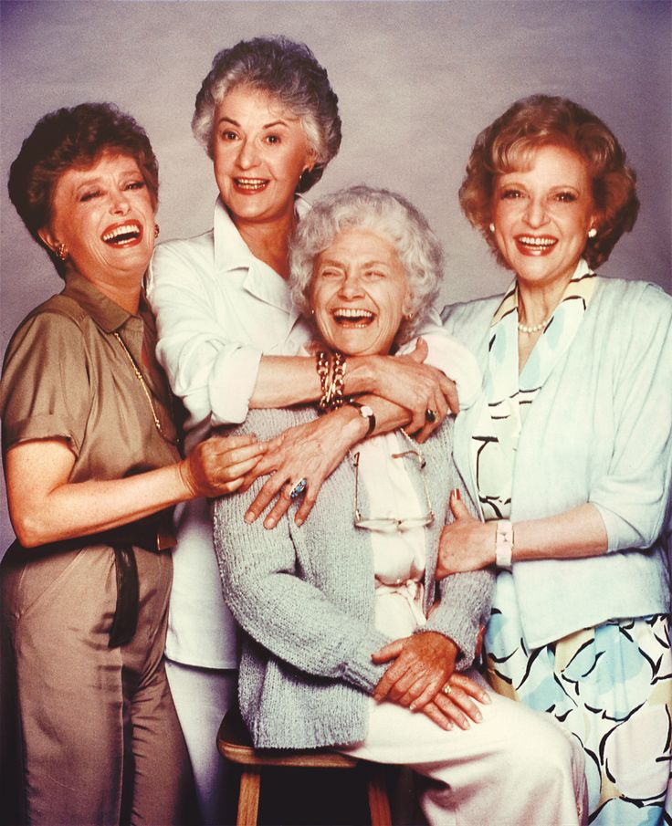 Rue McClanahan, Bea Arthur, Estelle Getty & Betty White in The Golden Girls (1985-92, NBC)