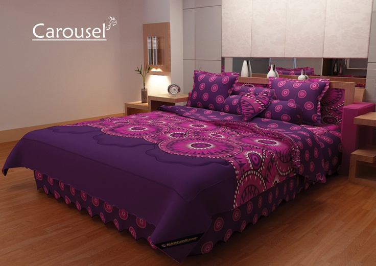 Carousel Bed Cover