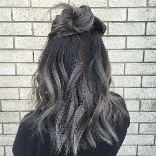 Metal Melt … by @loveisinthehair_byjanet #behindthechair #ombrehair #colormelt…