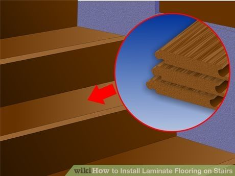 Image Titled Install Laminate Flooring On Stairs Step 1