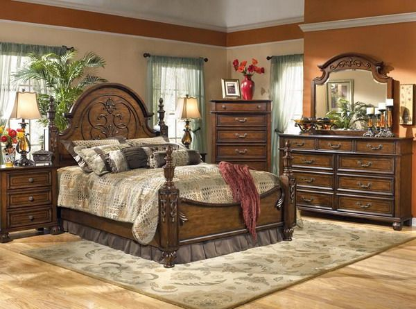 Luxury Traditional Bedroom Furniture Sets Decorating Ideas With Wooden Furniture Design | 50 Amazing Traditional Bedroom Design