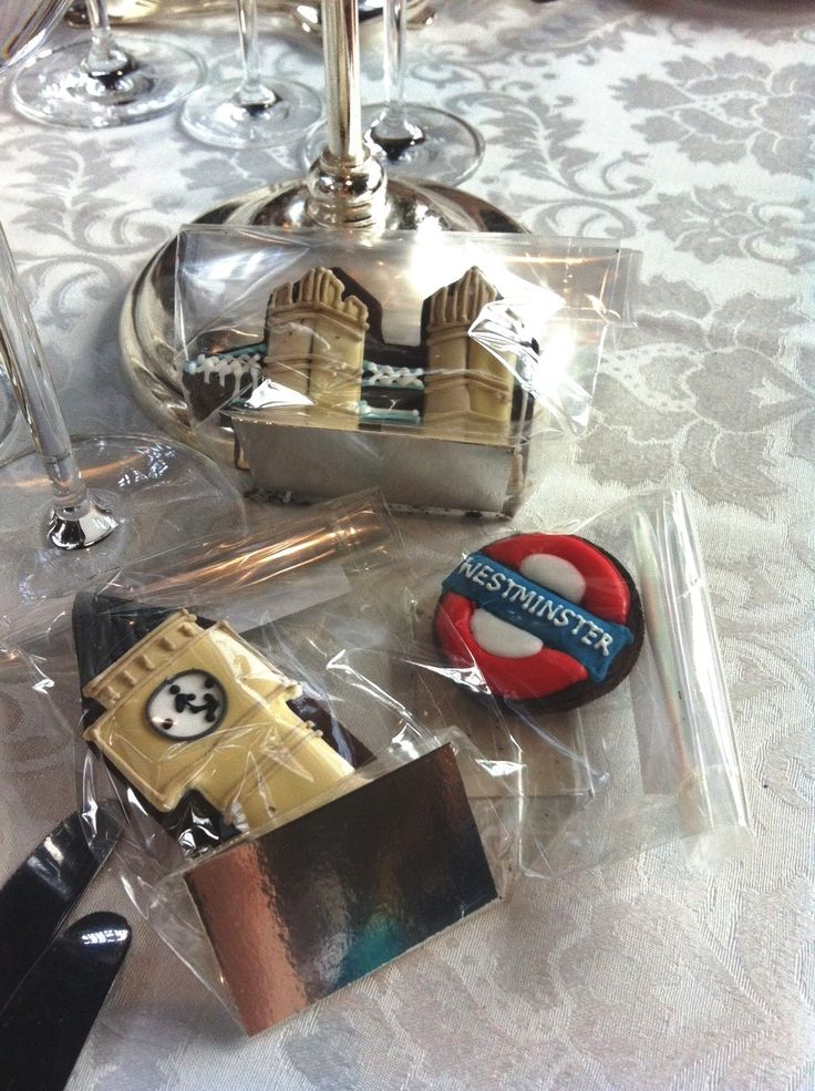 We Made These London Themed Wedding Favours For A Beautiful At Lincoln S Inn Fields This