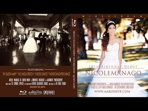 Filipino Debut in Queen Mary Long Beach with 18th Birthday Debutante Nicole Manago - YouTube