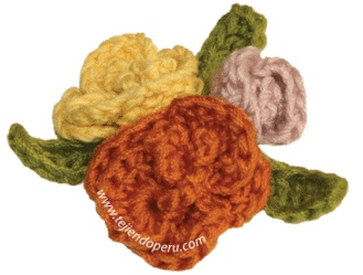 Tutorial: bouquet de flores tejidas a crochet!