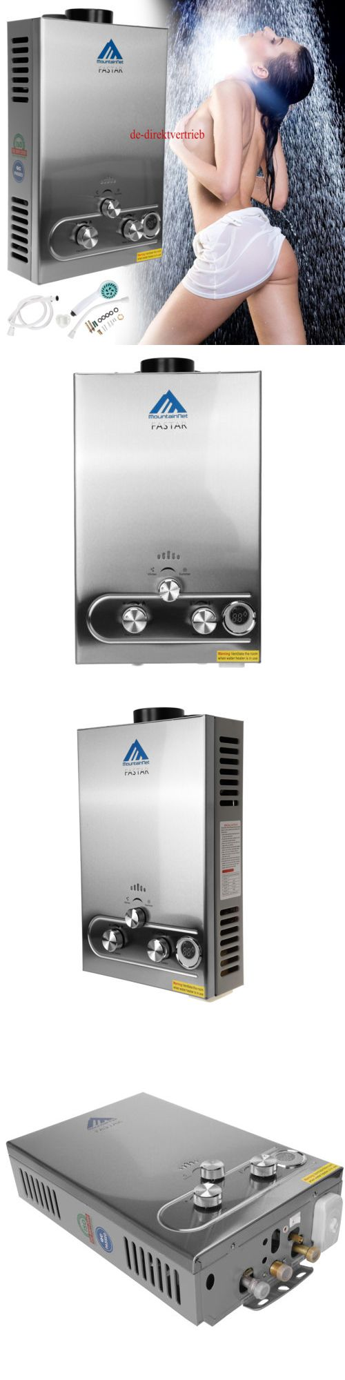 Pros and cons of gas tankless water heaters - Tankless Water Heaters 115967 8l Gas Tankless Instant Water Heater Boiler Lpg Propane Steel Panel