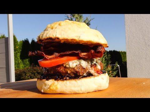 Spicy Bacon Burger - YouTube