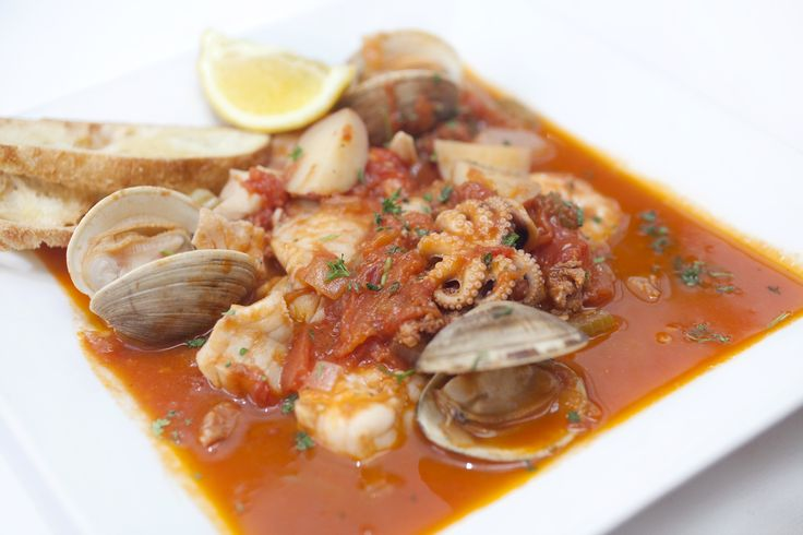 Chef Steve's Portuguese Fish Stew: Seafood, sausage and ...