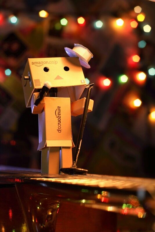 Danbo on stage