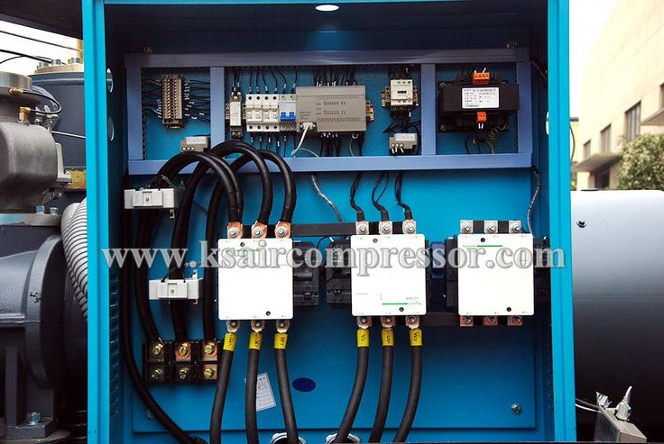Electrical box for air compressor