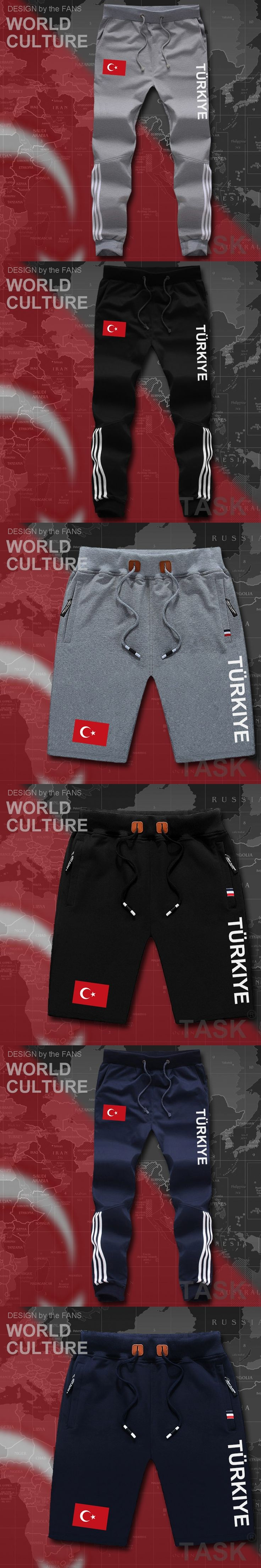 Turkey mens pants joggers jumpsuit sweatpants track cargo sweat fitness casual nation country flag 2017 new Turkish Turk country