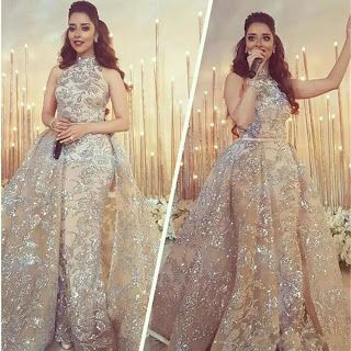 9226c59d55e54 Saudi Arabic Muslim Evening Dresses 2018 Mermaid High Collar Lace Formal  Islamic Dubai Kaftan Detachable Long Evening Gown