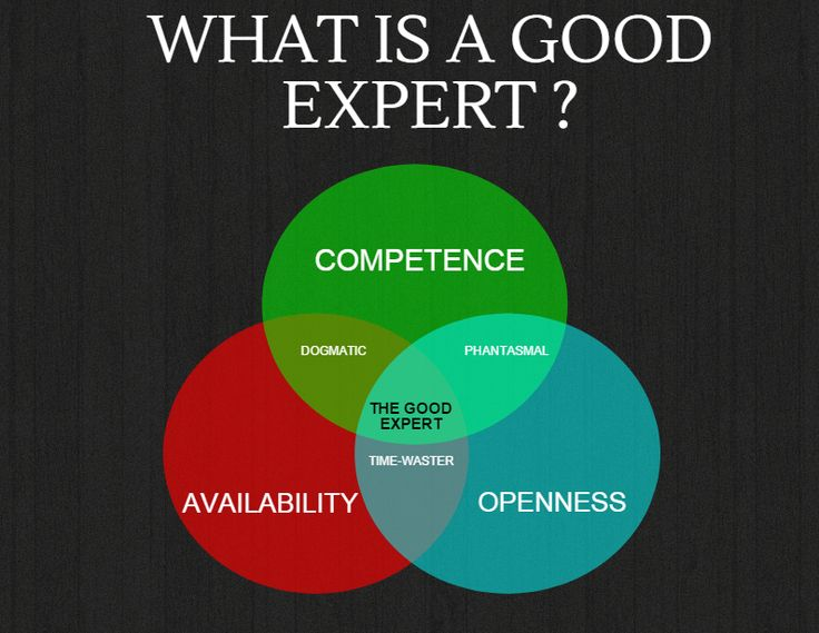 What is a good expert ? #Infographie #OpenInnovation