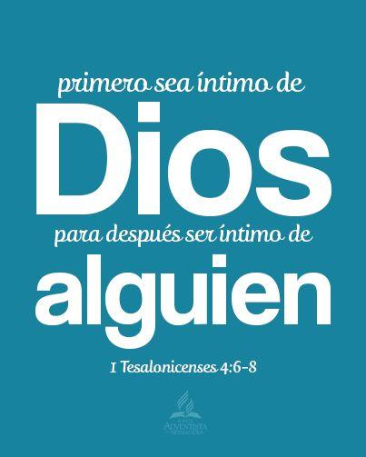 íntimo con Dios