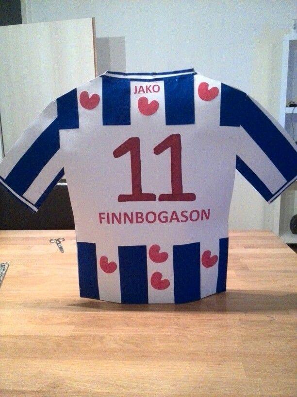 Surprise Finnbogason Heerenveen voetbal