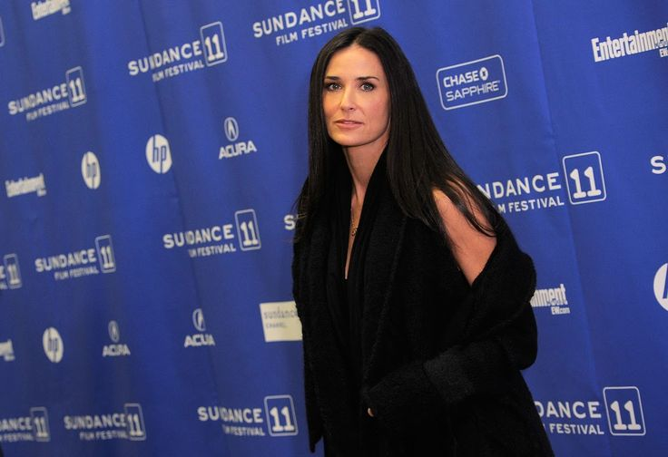 Demi Moore - Demetria Gene Guynes The Striptease star retained the last name of her first husband, Freddy Moore, after their divorce in 1984.