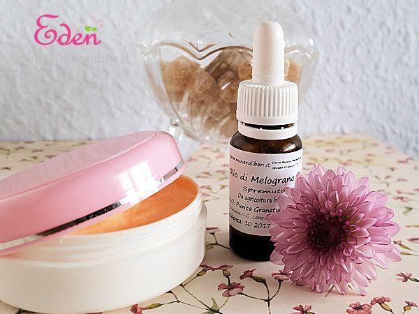 olio melograno cosmetici fai da te