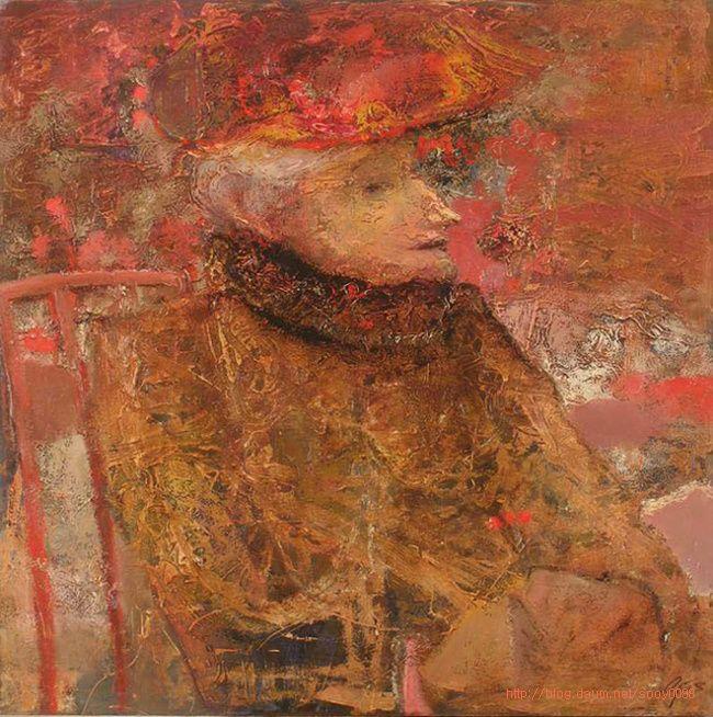 Портрет пожилой дамы