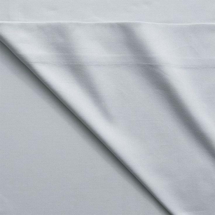 "basketweave silver grey curtain panel 48""""x120"""""