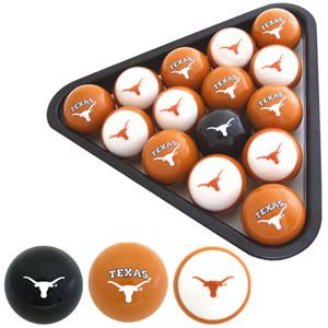 Texas Longhorns Pool Ball Set. If the Texas Longhorns are your thing, ...  forevergeek.com