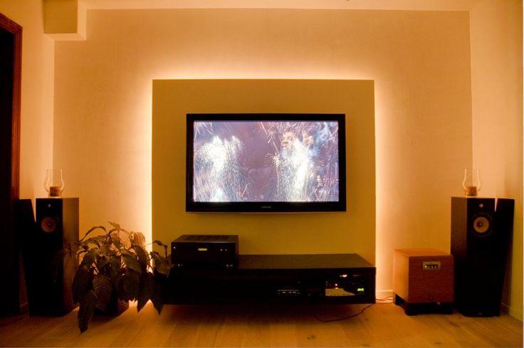 Advies: voorzetwand TV met ledverlichting