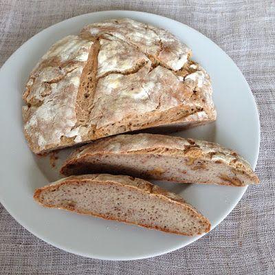BUCKWHEAT BREAD WITH WALNUTS - SOBA BREAD - AJDOV KRUH Z OREHI