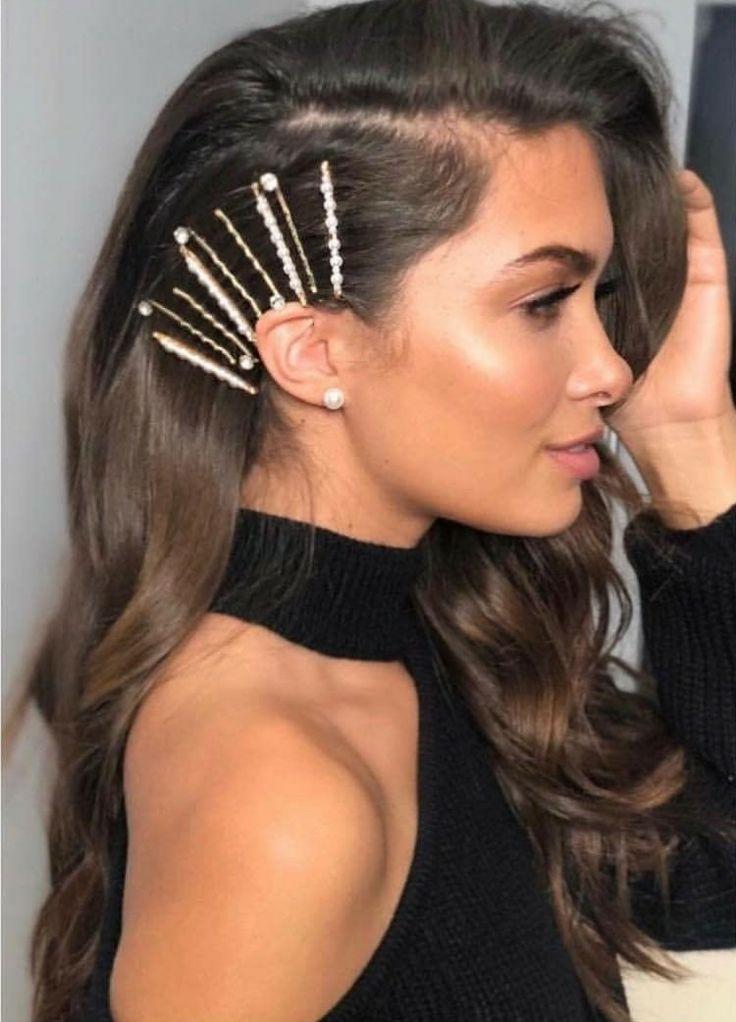 Edgy Prom Hairstyle Medium Length Hair Styles Hair Styles Clip Hairstyles