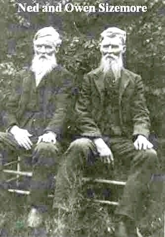Ned and Owen Sizemore, sons of George All Sizemore