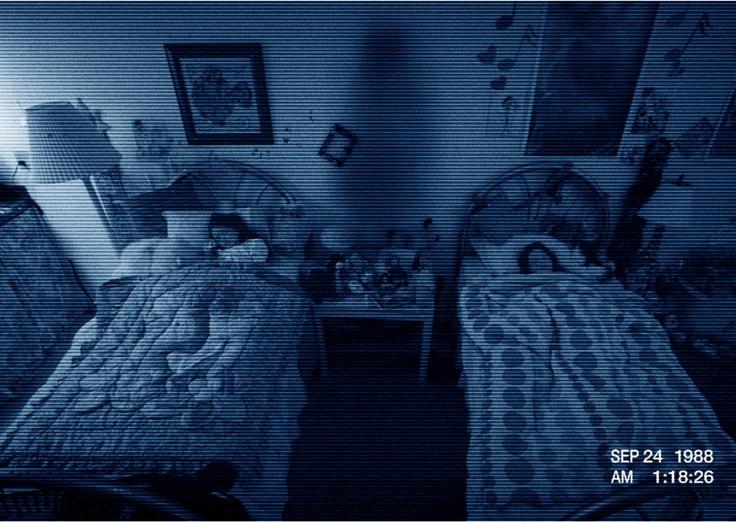 Paranormal Activity, yikes!