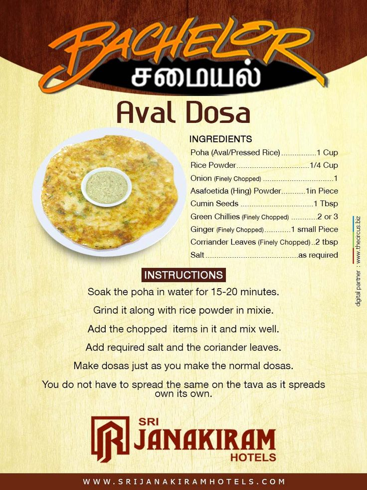 Bachelor Samayal! Aval Dosai is a simple South Indian Breakfast recipe. Easily prepared during busy mornings.   #srijanakiram #bachelor #samayal #aval