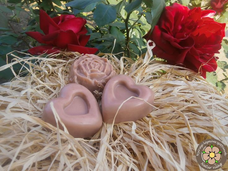 Rózsaliget - finom női szappan kecsketejjel