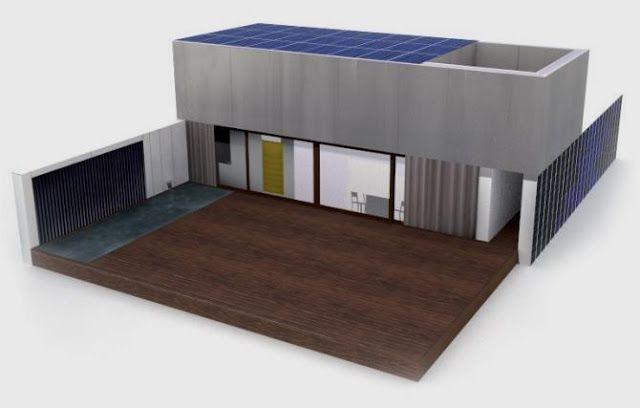 Building a solar house model