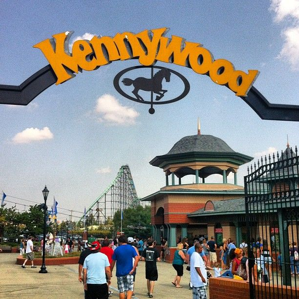 Kennywood Park, Pittsburgh PA is a nice medium sized theme park.  They have a few cool rollercoasters.