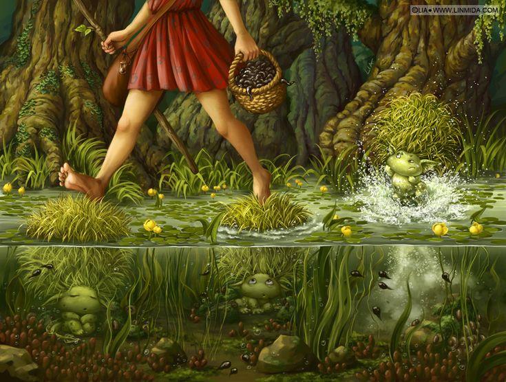 Little Bog men by LiaSelina on deviantART