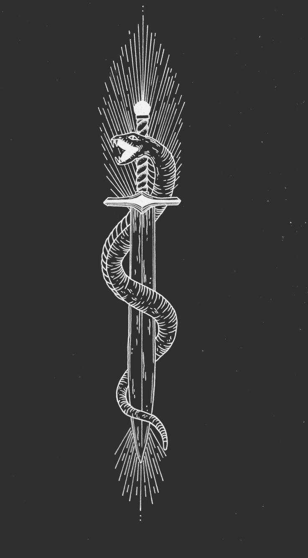25 best ideas about sword tattoo on pinterest future for Sword tattoos tumblr