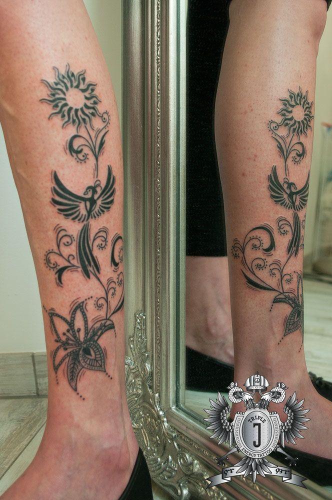 Pornstar jmk initials tattoo