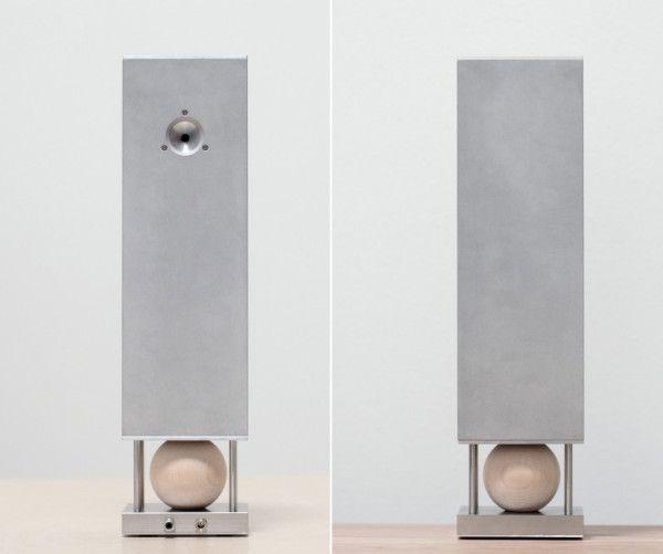 Towering Simplicity: Joey Roth's Steel Speaker