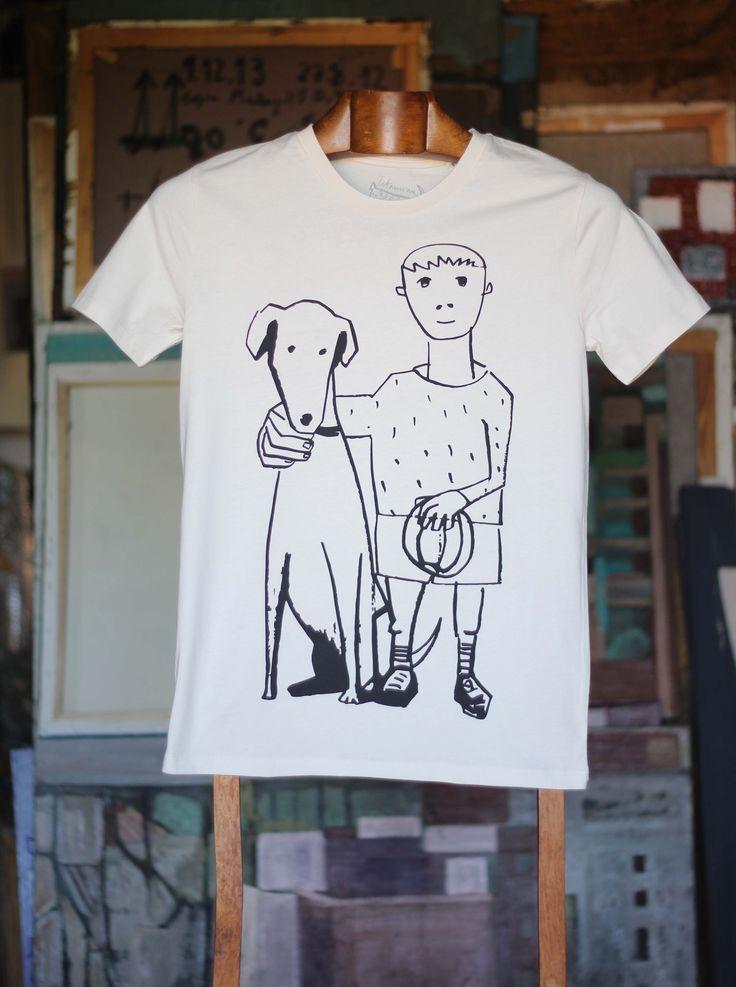 Amigos blanca Camiseta 100% algodón orgánico. 30,00€