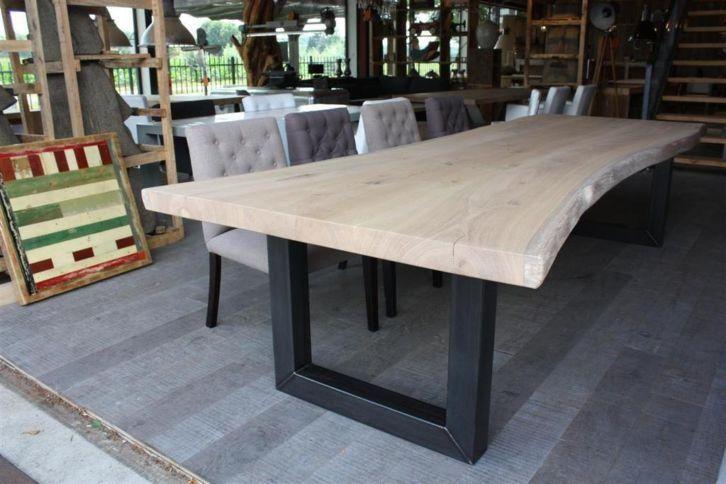 ZWAARTAFELEN | stoere houten tafels, eiken tafels op maat | Marilyn Monroe