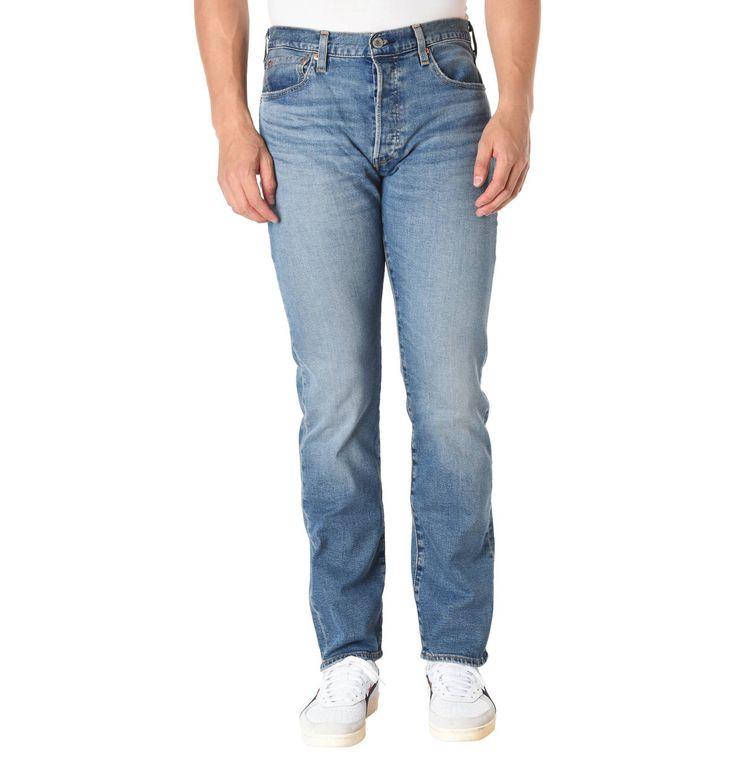 Jeans, Regular Fit, Stretch, Knopfleiste #jeans
