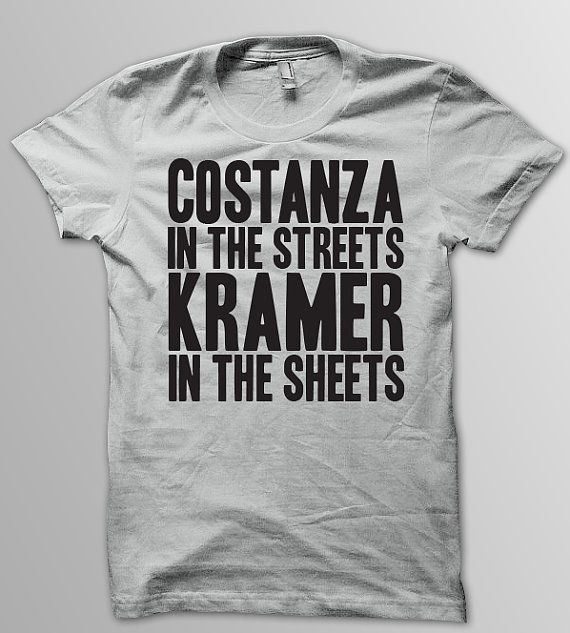 SEINFELD  COSTANZA In the Streets KRAMER In the by YellowDogTees