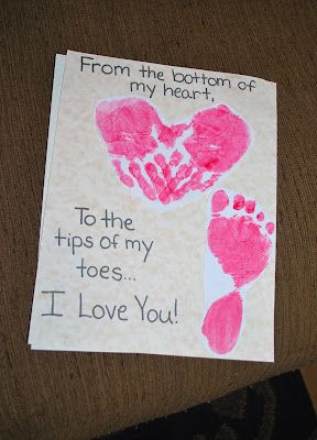 This Would Be Cute For The Boys To Make For Their Parents Thank You